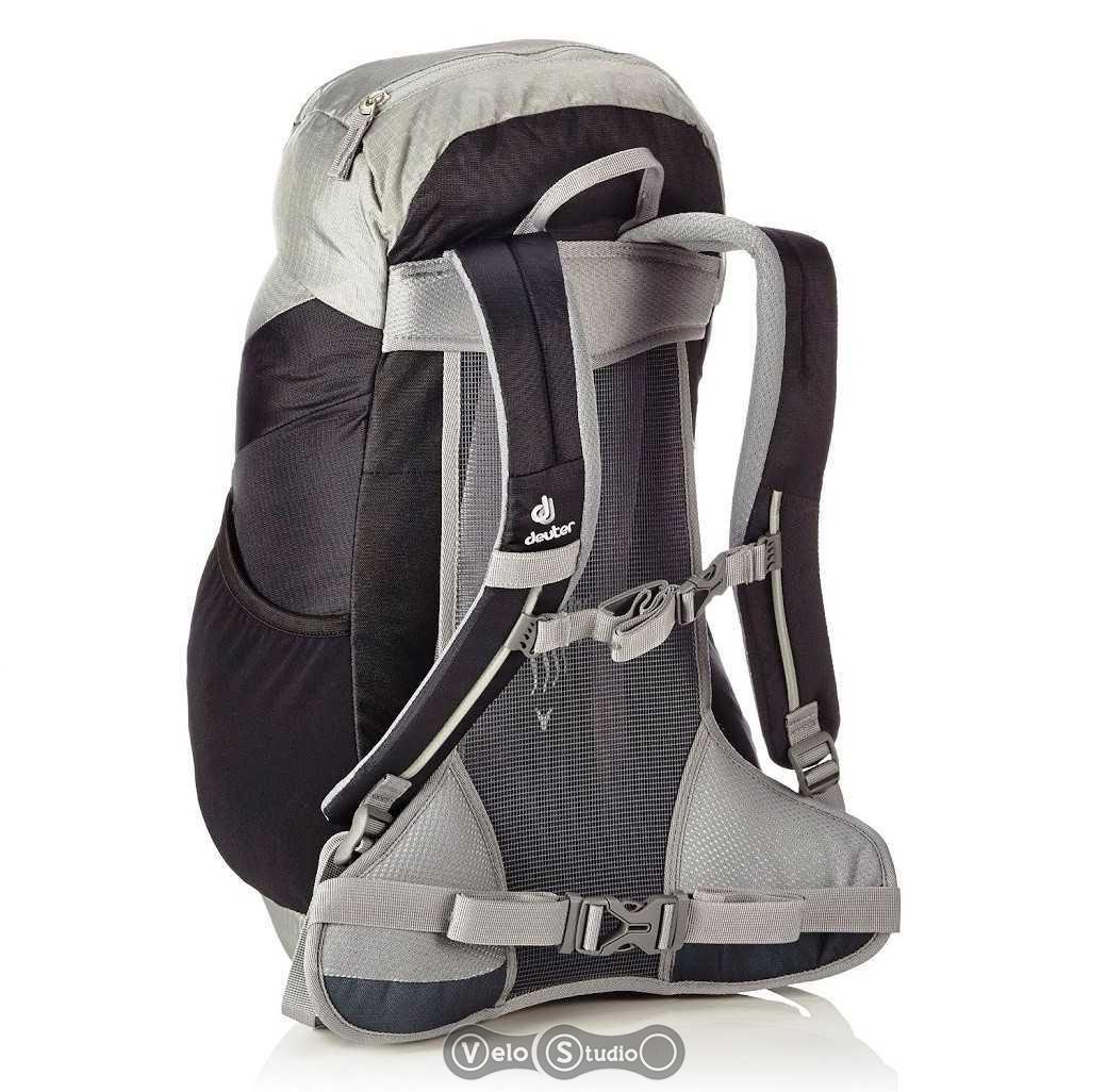 Рюкзак deuter ac lite 22 black-silver молодёжные рюкзаки купить