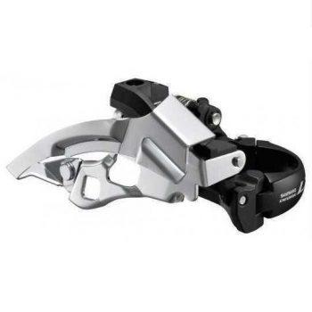 Передний переключатель Shimano LX FD-M670 3×9 скоростей