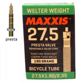 Камера велосипедная Maxxis Welter weight 27,5х1.90-2.35 FV