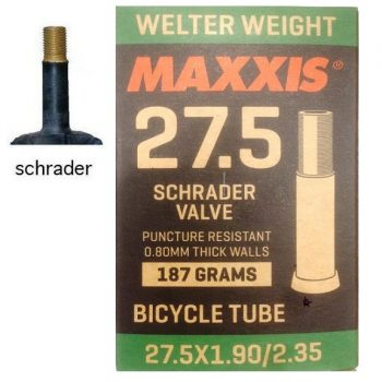 Камера велосипедная Maxxis Welter weight 27,5х1.90-2,35 AV