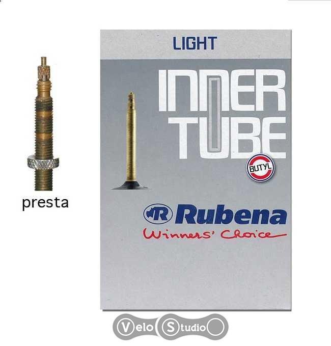 Камера велосипедная Rubena Light 27,5x1,90-2,30 Presta 33 мм
