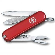 Нож Victorinox Classic SD 7 предметов красный