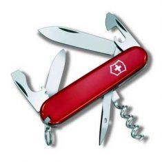 Нож Victorinox TOURIST 12 предметов красный