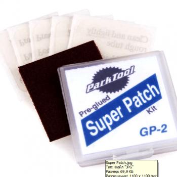 Набор самоклеющихся латок Park Tool Super Patch GP-2