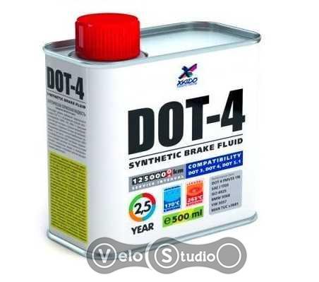Тормозная жидкость ХАДО DOT-4