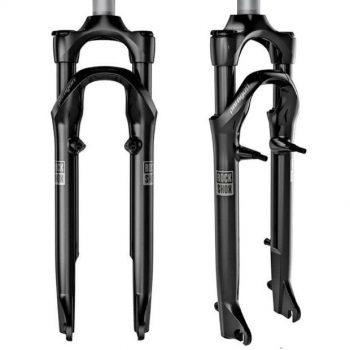 Вилка Rock Shox Paragon Gold RL Solo Air V-Brake воздушная для городского велосипеда 28 дюймов, 00.4019.459.000