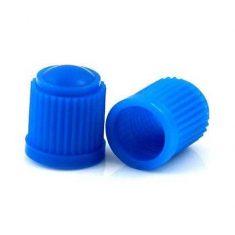 Колпачок пластиковый Schrader синий