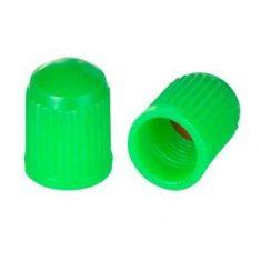 Колпачок пластиковый Schrader зелёный