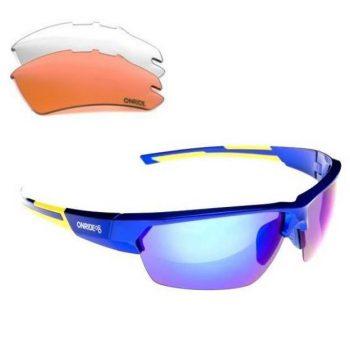 Очки Onride Spok синие сменные линзы, UV400