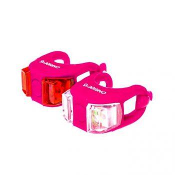 Мигалки Onride Dual набор розовый