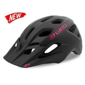 Шлем Giro Verce чёрный матовый с розовым