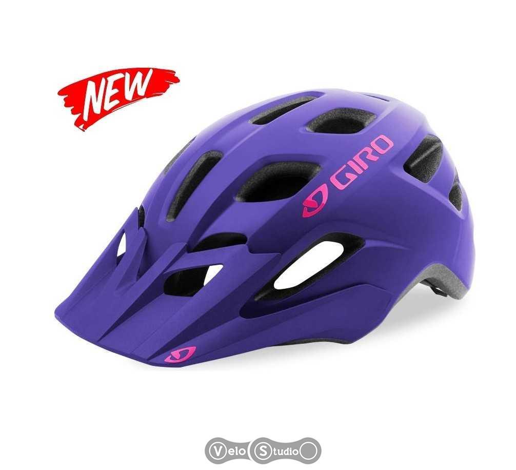 Шлем Giro Verce фиолетовый матовый с чёрным
