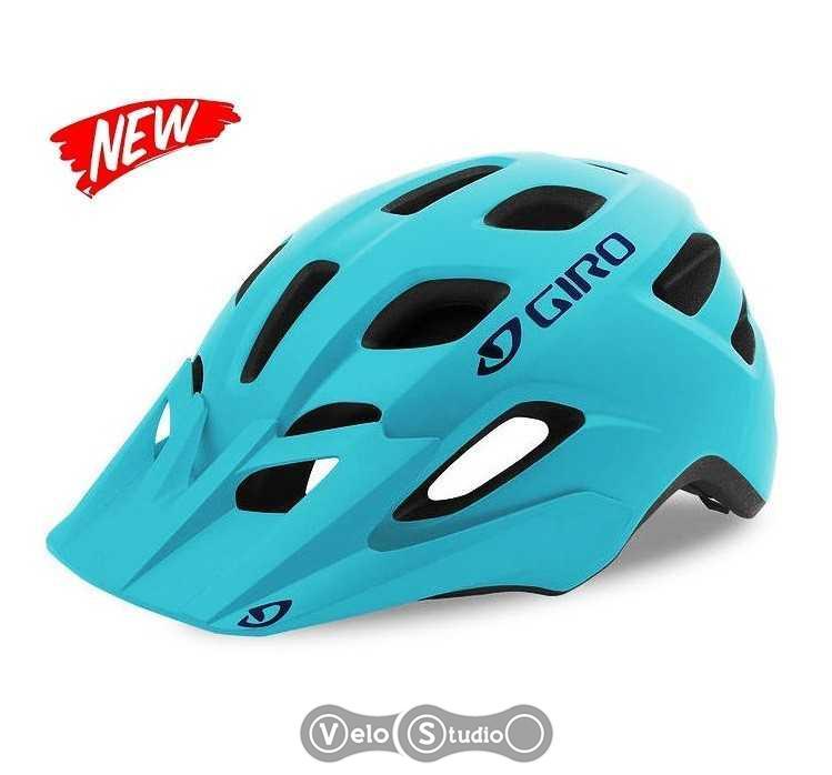 Шлем Giro Verce голубой матовый с синим