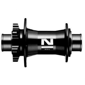 Втулка передняя Novatec DH61SB под 20 мм ось 32 спицы чёрная