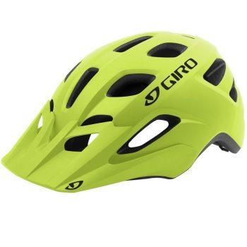 Шлем велосипедный Giro Fixture лайм матовый, закрытый затылок