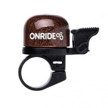 Звонок на руль ONRIDE Note коричневый