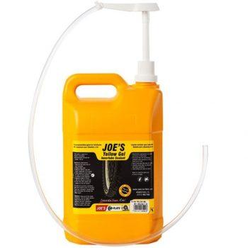Герметик Joe's No Flats Yellow Gel 5 литров, для камер
