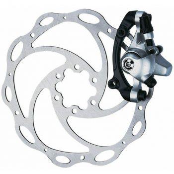 Тормоз механический дисковый TEKTRO MD-C500 LYRA серебро