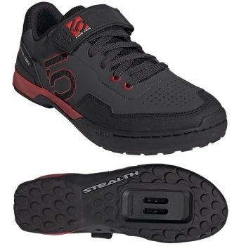 Кроссовки Five Ten Kestrel Lace Black Red SPD под контактные педали