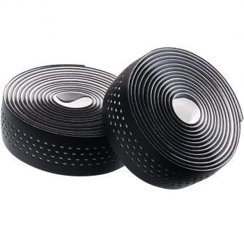 Обмотка руля Merida чёрная - белая качественная лента