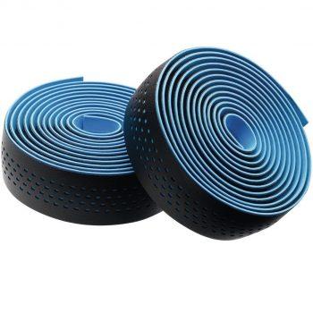 Обмотка руля Merida чёрная — синяя