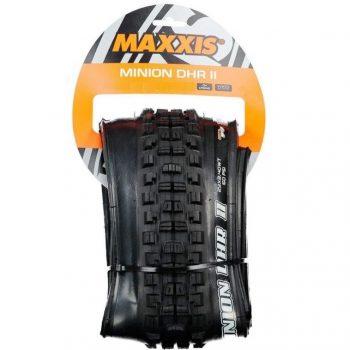 Покрышка Maxxis Minion DHR II 26x2.40, складная, WT, EXO/TR 60TPI, 60a, задняя