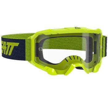 Очки-маска LEATT Goggle Velocity 4.5 — Clear 83% Neon Lime