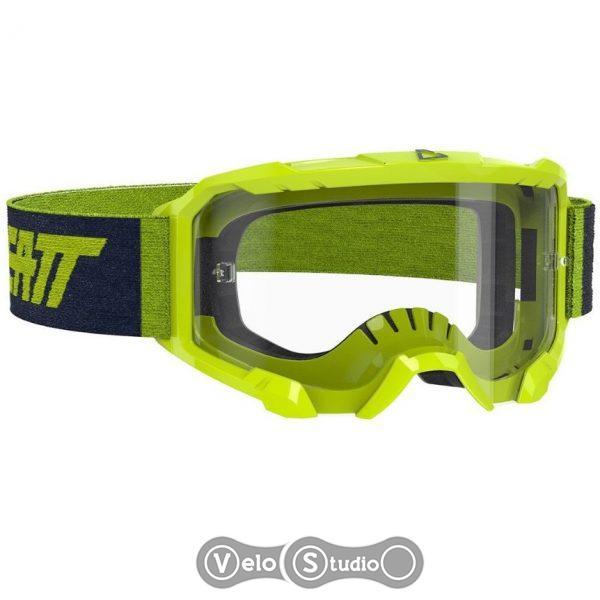 Очки-маска LEATT Goggle Velocity 4.5 - Clear 83% Neon Lime