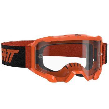 Очки-маска LEATT Goggle Velocity 4.5 — Clear 83% Neon Orange