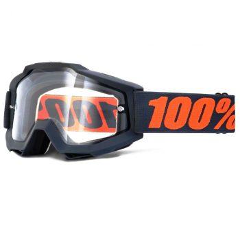 Очки-маска Ride 100% Accuri Enduro Goggle Gunmetal — Clear Dual Lens