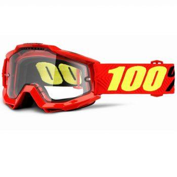 Очки-маска Ride 100% Accuri Enduro Goggle Saarinen — Clear Dual Lens