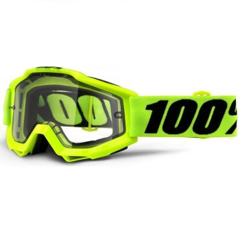 Очки-маска Ride 100% Accuri Enduro Goggle Fluo Yellow — Clear Dual Lens