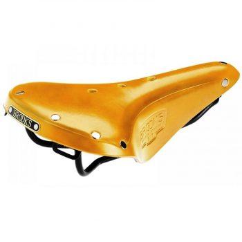 Седло Brooks B17 Standard золотистое, кожа, гарантия 10 лет