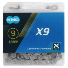 Цепь KMC X9 9 скоростей 114 звеньев
