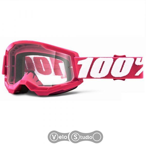 Очки-маска Ride 100% STRATA Goggle II Fletcher - Clear Lens