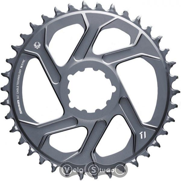 Звезда SRAM X-SYNC 2 36T Direct Mount 6mm Offset Lunar/Polar Grey