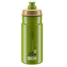 Фляга ELITE JET GREEN зелёная 550 мл велосипедная