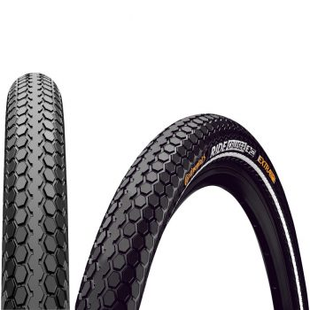 Покрышка Continental Ride Cruiser 26x2.20 Black