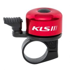 Звонок на руль KLS Bang красный