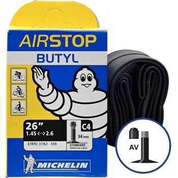 Камера велосипедная Michelin Butil A4 26 1.45-2.6 Schrader 40