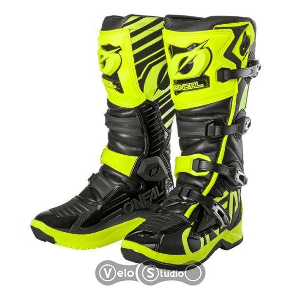 Мотоботы ONEAL RMX Boot Neon Yellow