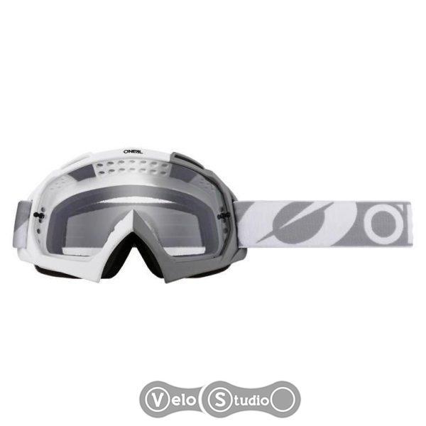 Очки-маска O`NEAL B-10 Goggle Pixel Gray White