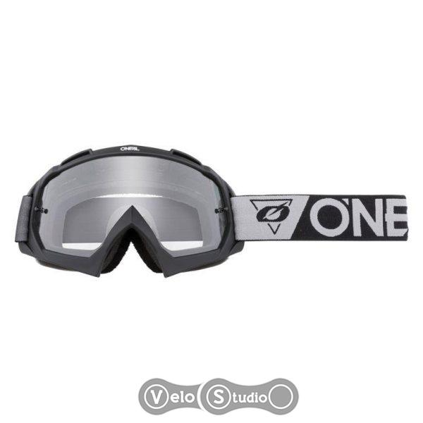 Очки-маска O`NEAL B-10 Goggle SpeedMetal White Gray