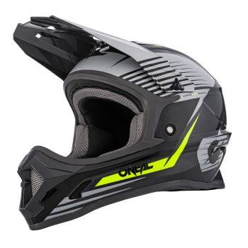 Шлем ONeal 1SRS Helmet Stream Gray/Neon