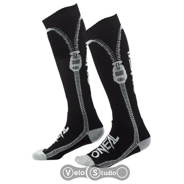 Носки ONeal Pro MX Sock Zipper Black