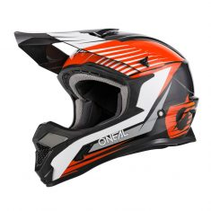 Шлем ONeal 1SRS Helmet Stream Black/Orange