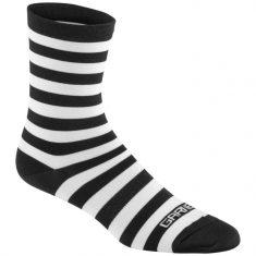 Носки Garneau Conti Long черно-белые L/XL