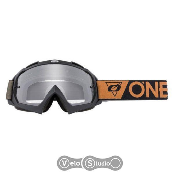 Очки-маска O`NEAL B-10 Goggle SpeedMetal Black Brown