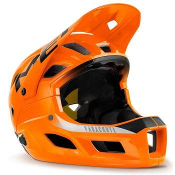 Вело шлем MET Parachute MCR (Mips) Orange Black Glossy M (56-58cm)