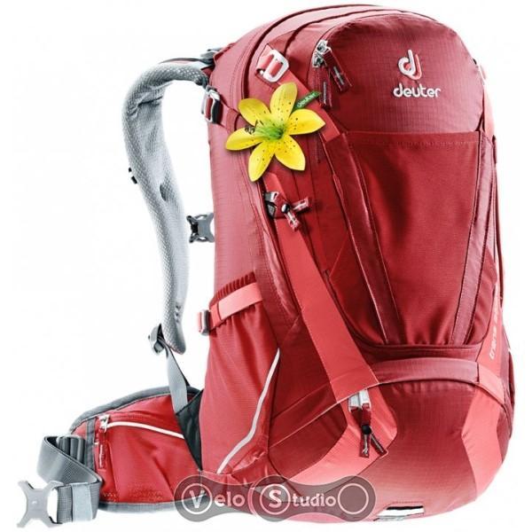 Рюкзак Deuter Trans Alpine 28 SL красный